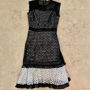 Dresses & Skirts - Black and White Formal dress